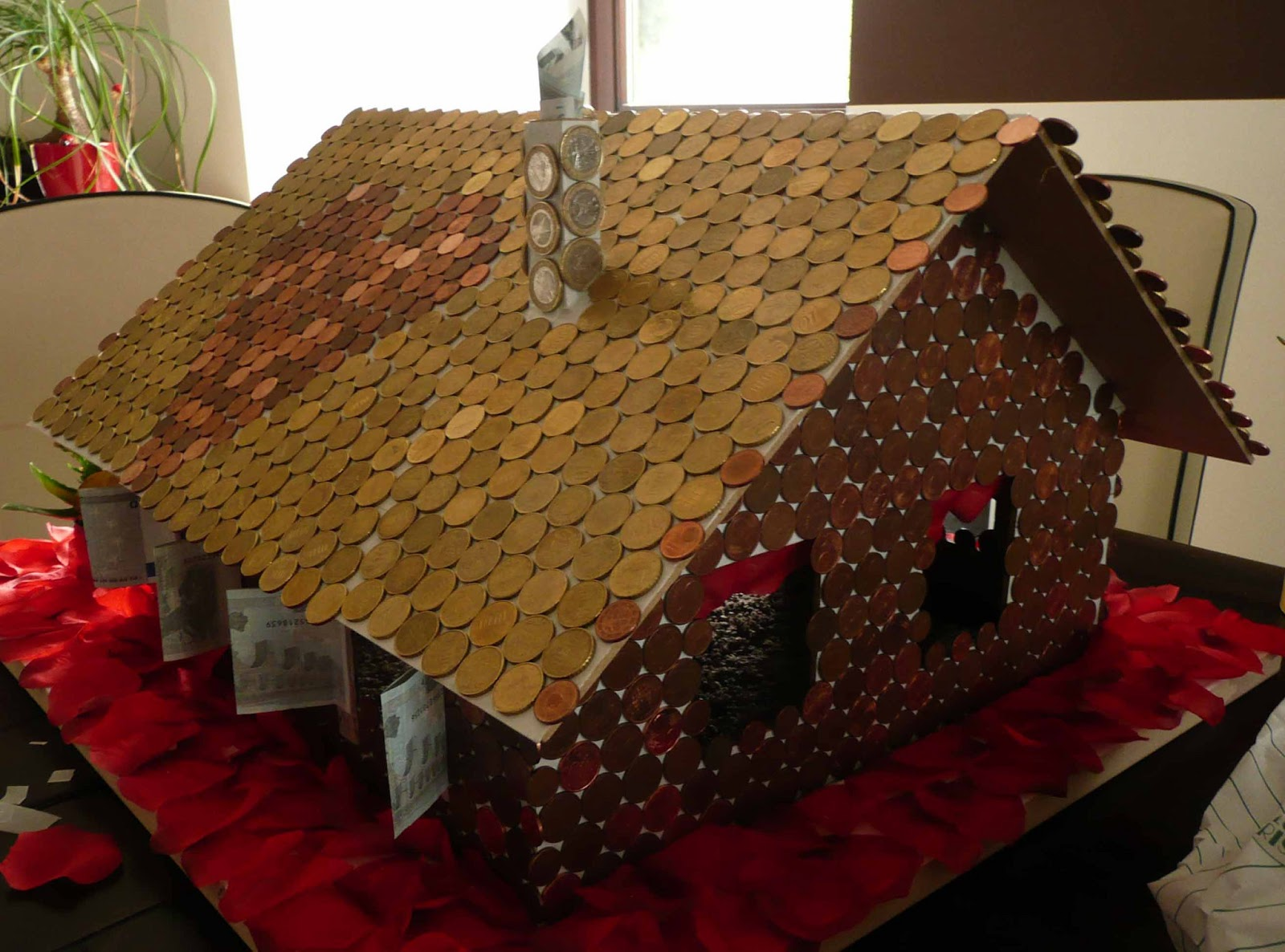 Geldgeschenk Fur Hausbau Hochzeit Geschenk Originell Hausbau