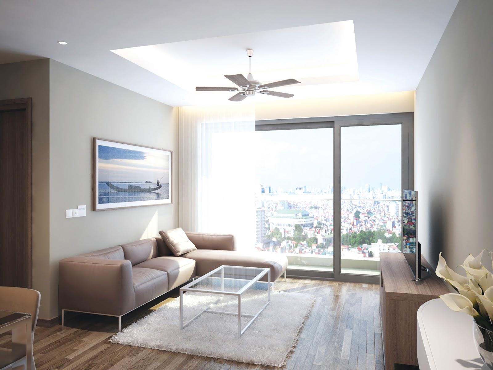 Thiết kế căn hộ Phú Mỹ Complex - N01T4 Ngoại Giao Đoàn hút khách mua
