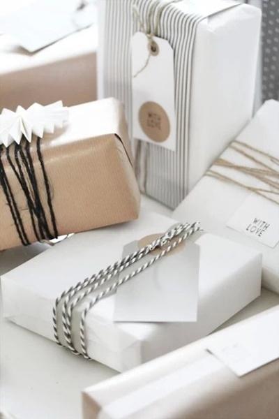 kaunis yksinkertainen paketointi