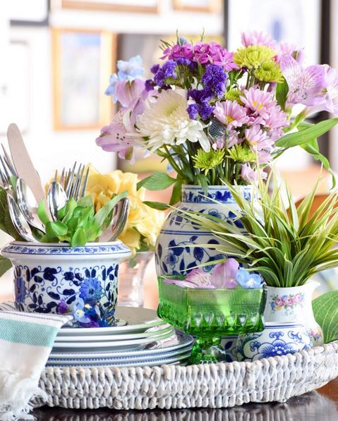 Chinese Porcelain Flower Vases