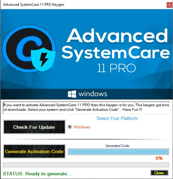 advanced systemcare 11 key giveaway