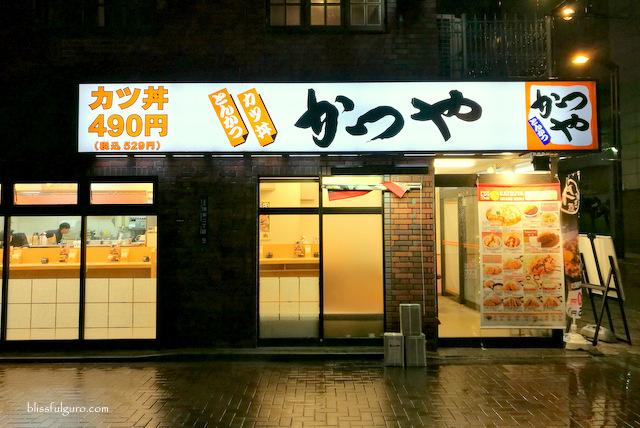 Tokyo Japan Best Katsudon