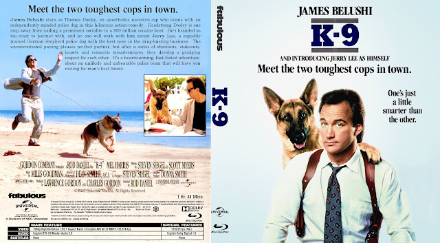 K-9 Bluray Cover