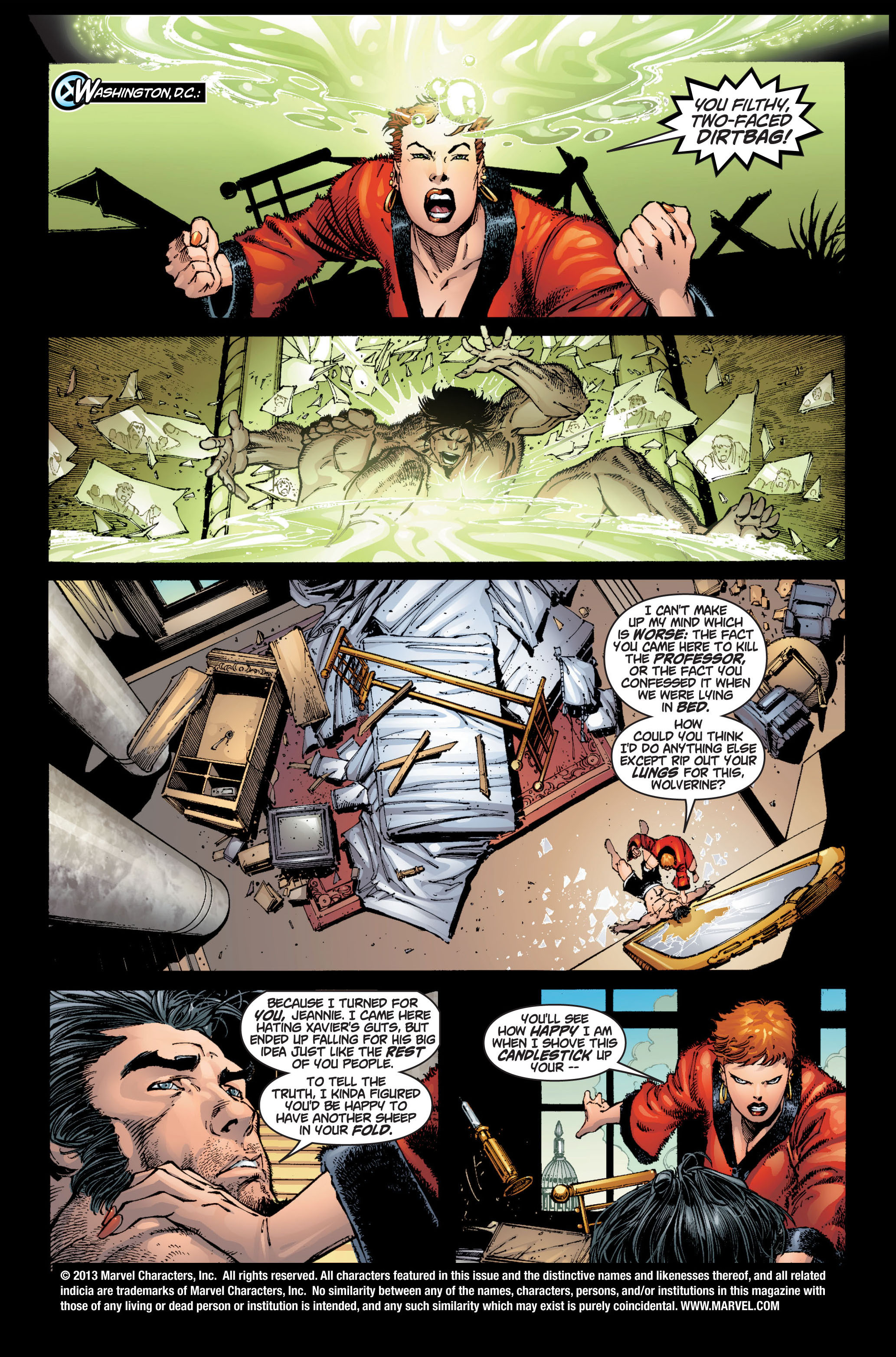 Read online Ultimate X-Men comic -  Issue #6 - 2