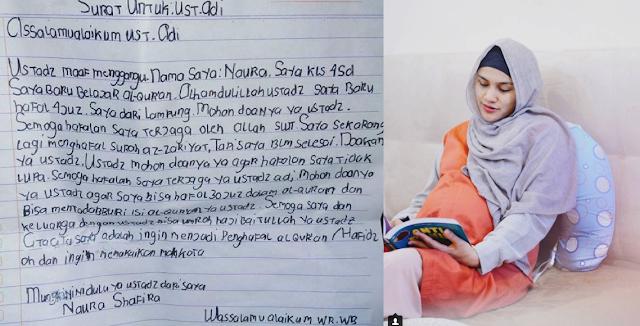 Surat Anak SD untuk Ustadz Adi Hidayat, Bikin Artis Ini Menangis