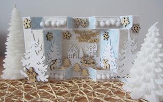 851. White Christmas( 4)… scandi:)