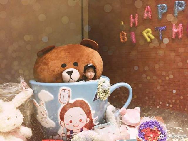 Zhao Li Ying turns 30