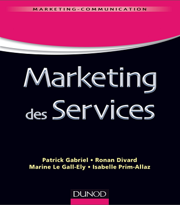 livre Marketing des services pdf gratuit