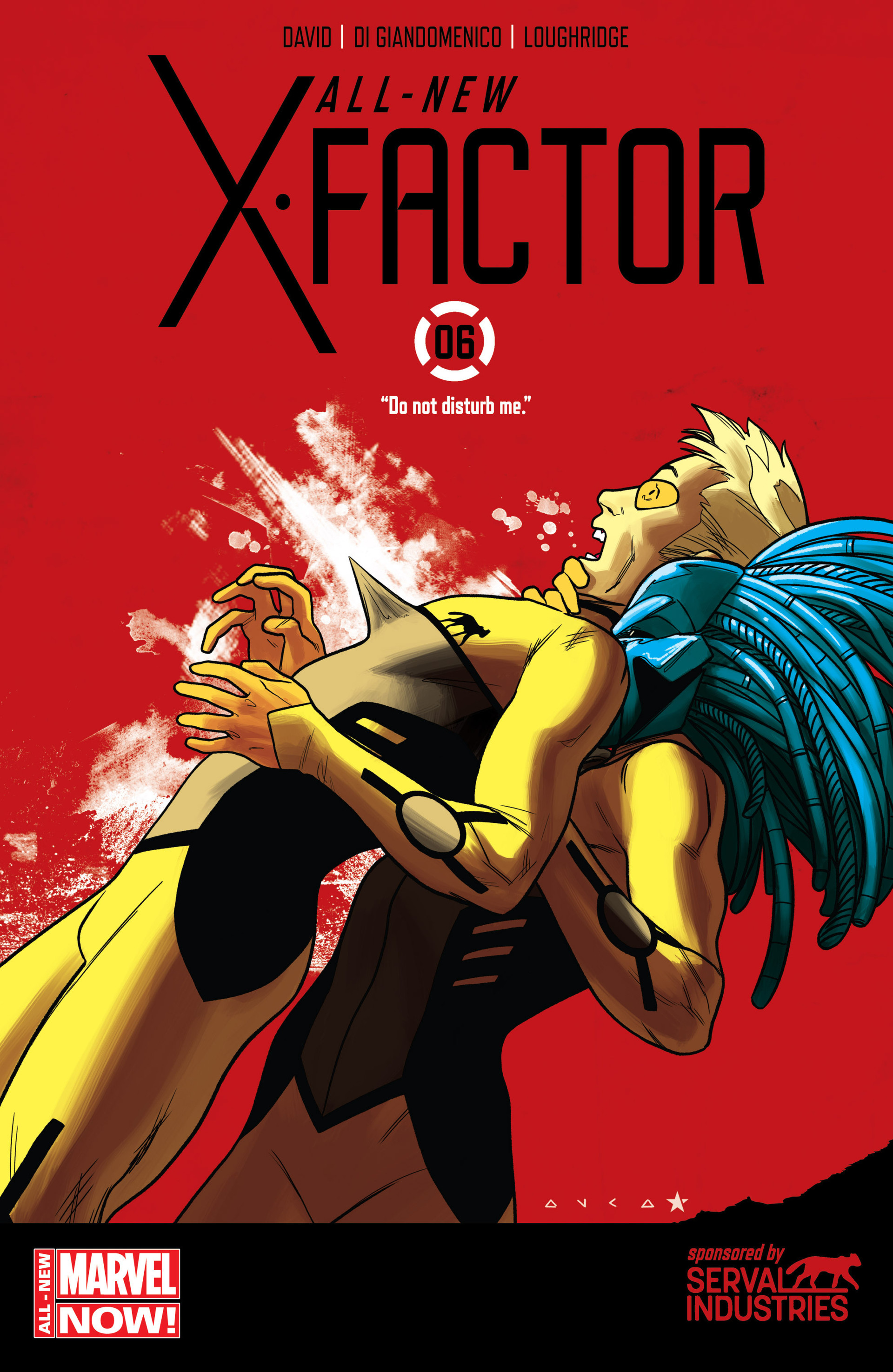 Read online All-New X-Factor comic -  Issue #6 - 1