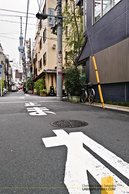 Enaka Asakusa Central Hostel Street
