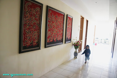 Koridor guest house batu