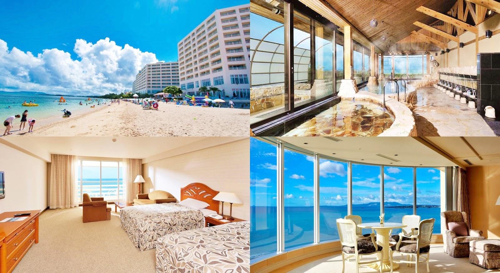 沖繩-住宿-推薦-飯店-旅館-民宿-公寓-麗山海景皇宮度假酒店-Rizzan-Sea-Park-Hotel-Tancha-Bay-Okinawa-hotel-recommendation