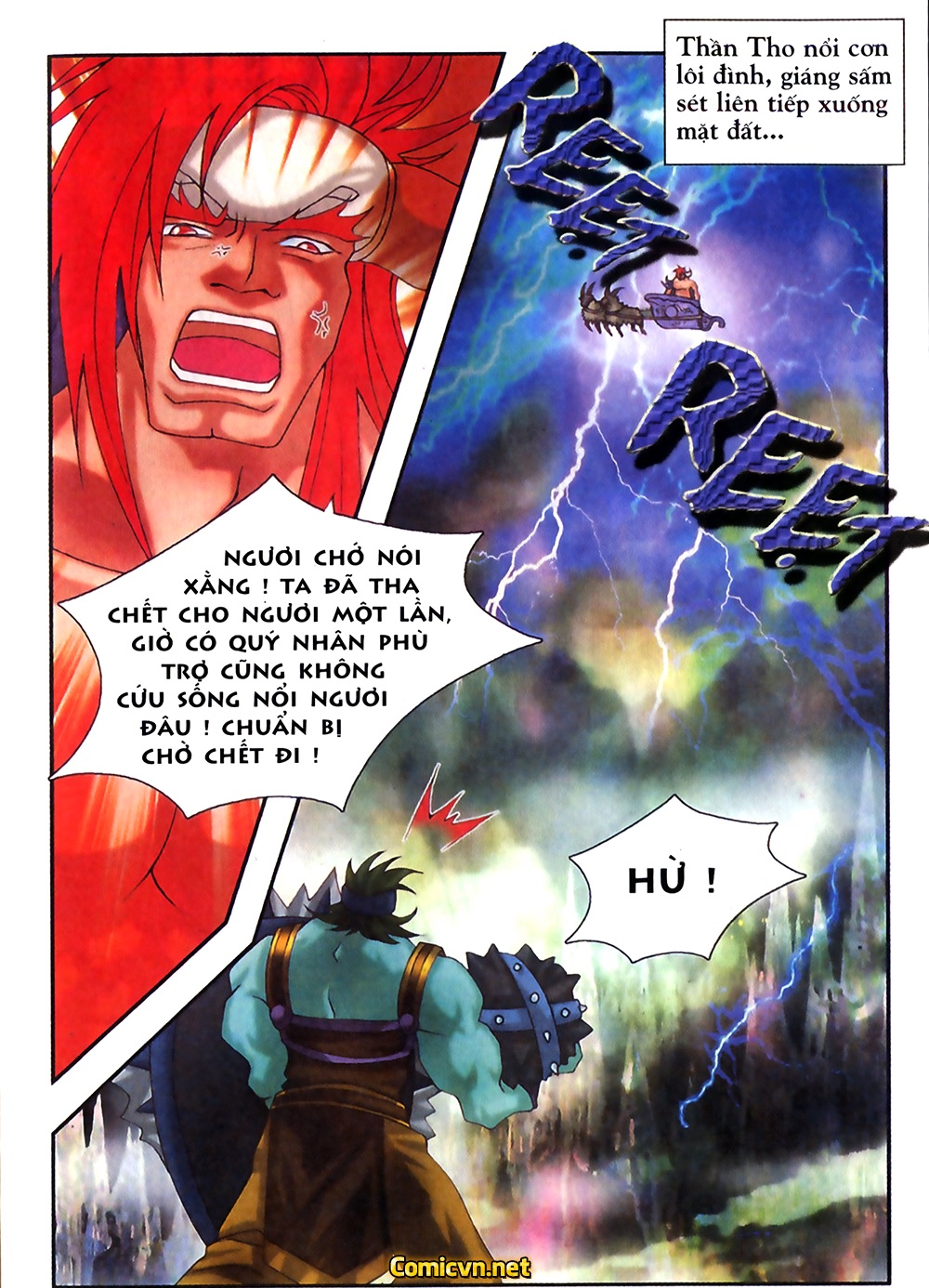 Thần thoại Bắc Âu - Chapter 31: Trận chiến không cân sức - Pic 28