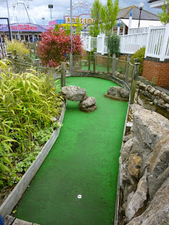 Pebble Beach Adventure Golf at the Pleasure Beach in Skegness