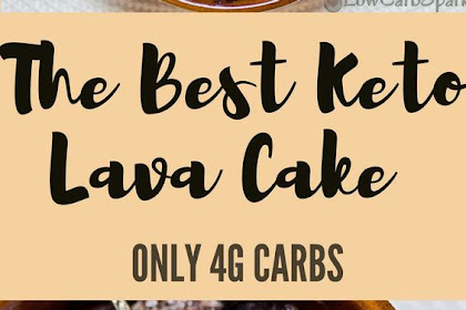 The Best Keto Lava Cake – Low Carb Molten Mug Cake with only 4g Carbs