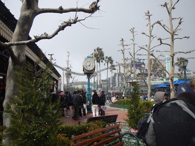 Nieve en Universal Studios Japan