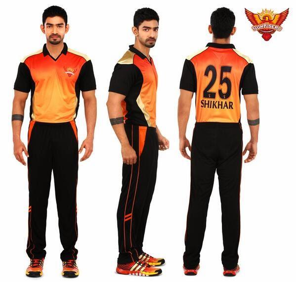All Team Of The Seasons: IPL 2014 All Teams New Uniform Kit For IPL Season 7
