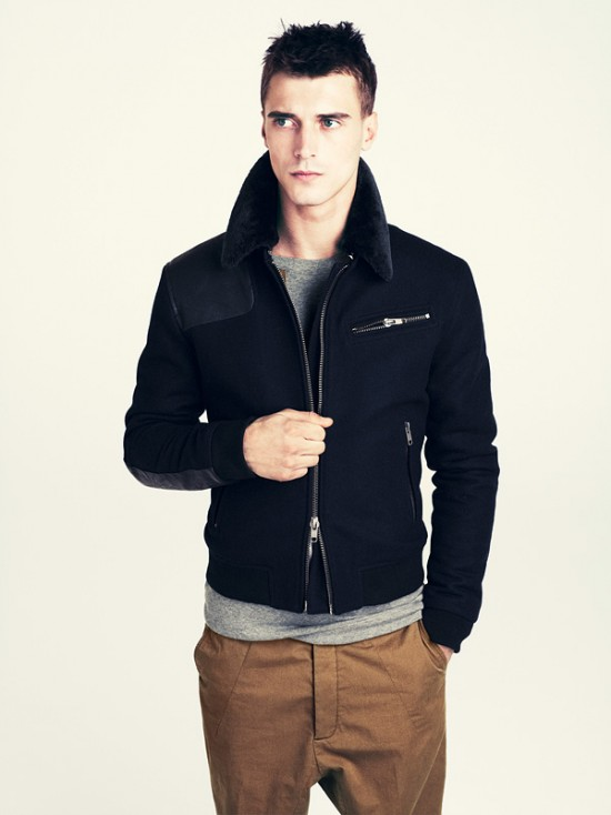 Emoo Fashion: Men Winter Clothes Fashion 2012