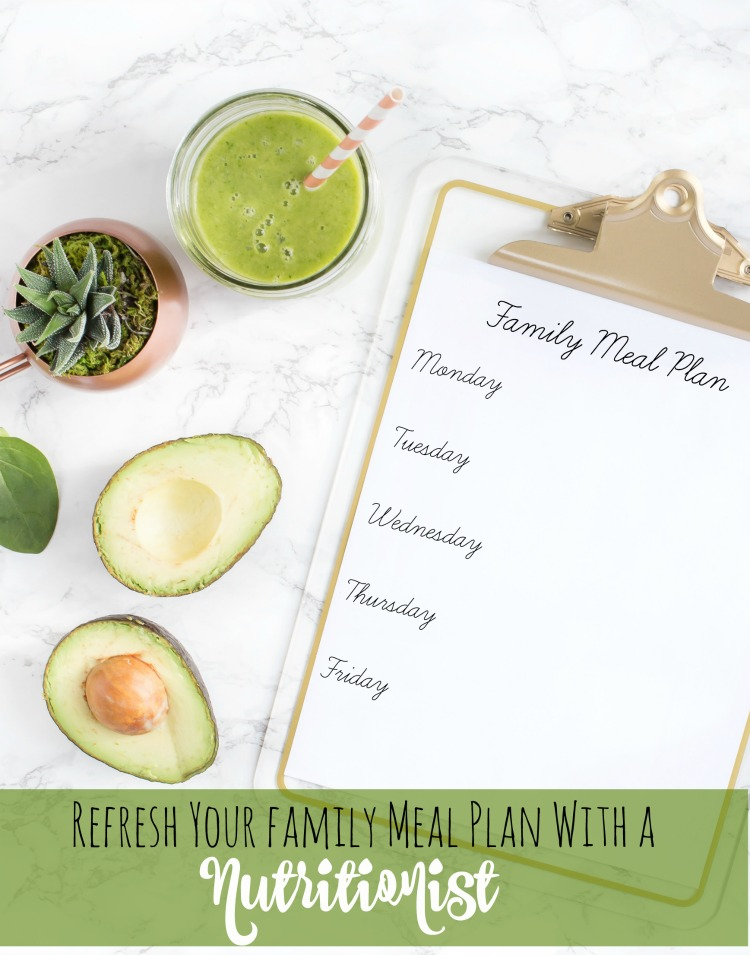 Refresh Your Family Meal Plan With a Nutritionist