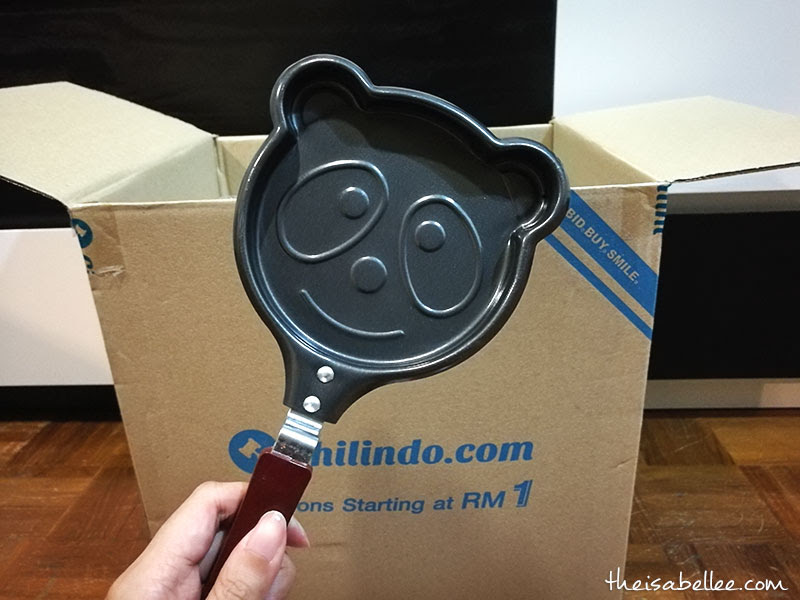 Frying pan from Chilindo Malaysia