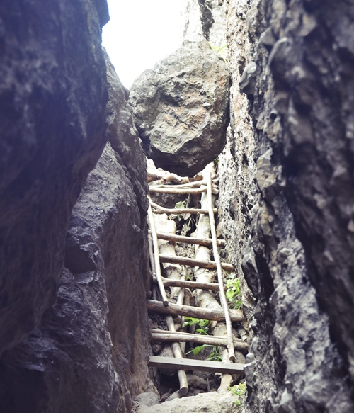 Bergwanderung / Wanderung Gebirge Java Indonesien