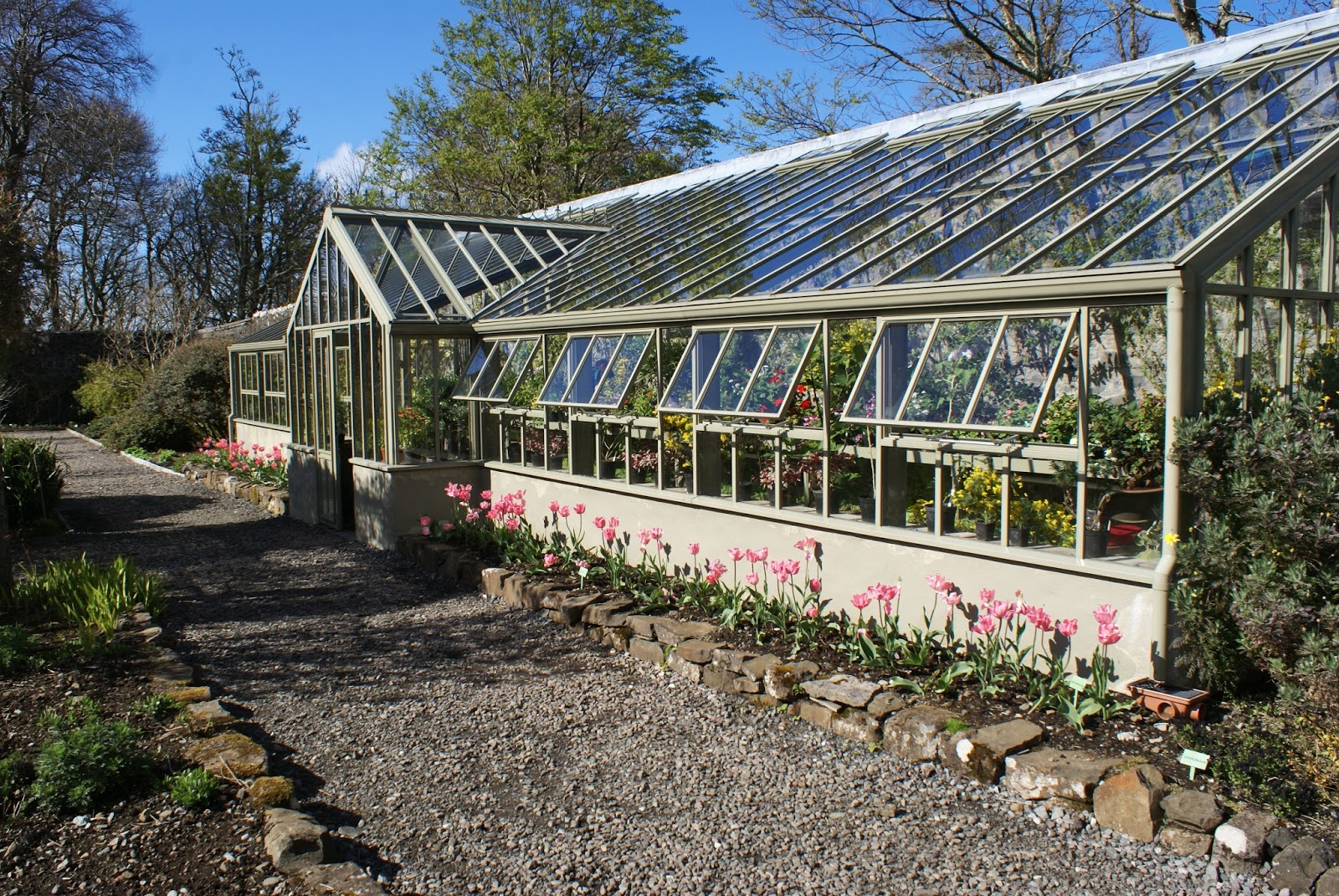 isle of skye scotland united kingdom dunvegan castle greenhouse walled garden