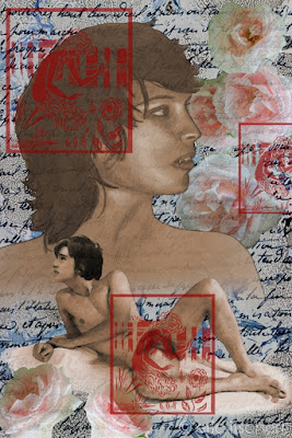censure, Illustration numérique, sceaux, faunes, faune nu, faune, Aubrey Beardsley, autocensure,