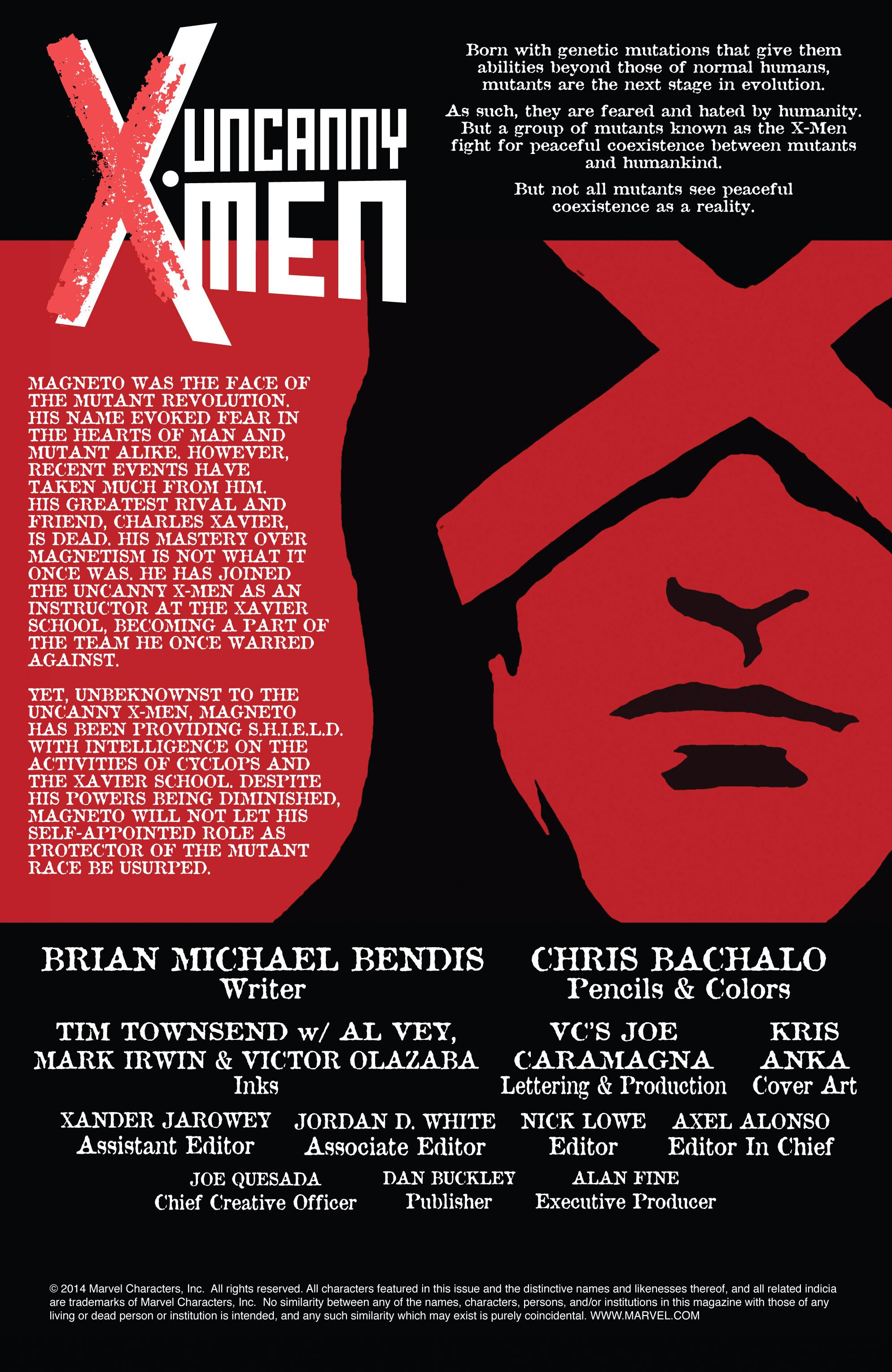 Read online Uncanny X-Men (2013) comic -  Issue #16 - 2