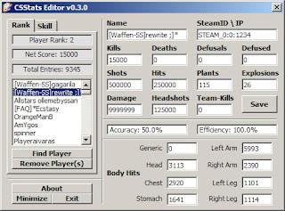 CSStats Editor v0.3.0