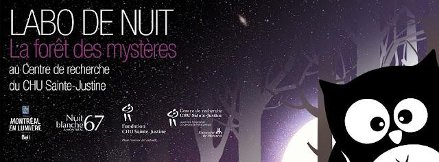 Activité pour la relâche: « Labo de nuit – la forêt des mystères »