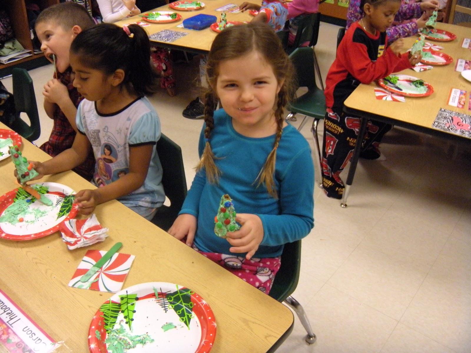 Kindergarten Smarties Polar Express Party