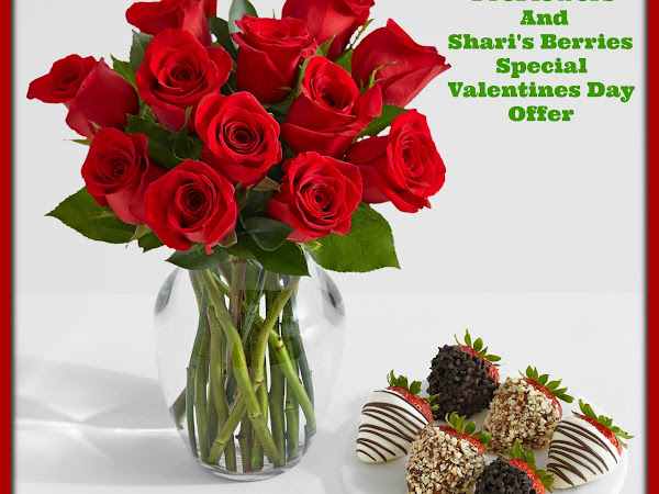 ProFlowers and Shari's Berries Special Valentines Day Offer