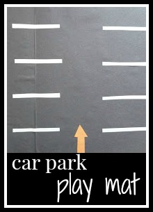 How to make a car park play mat for children