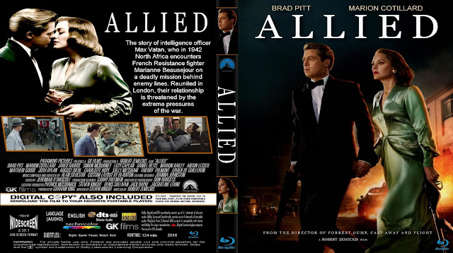 Allied Bluray Cover