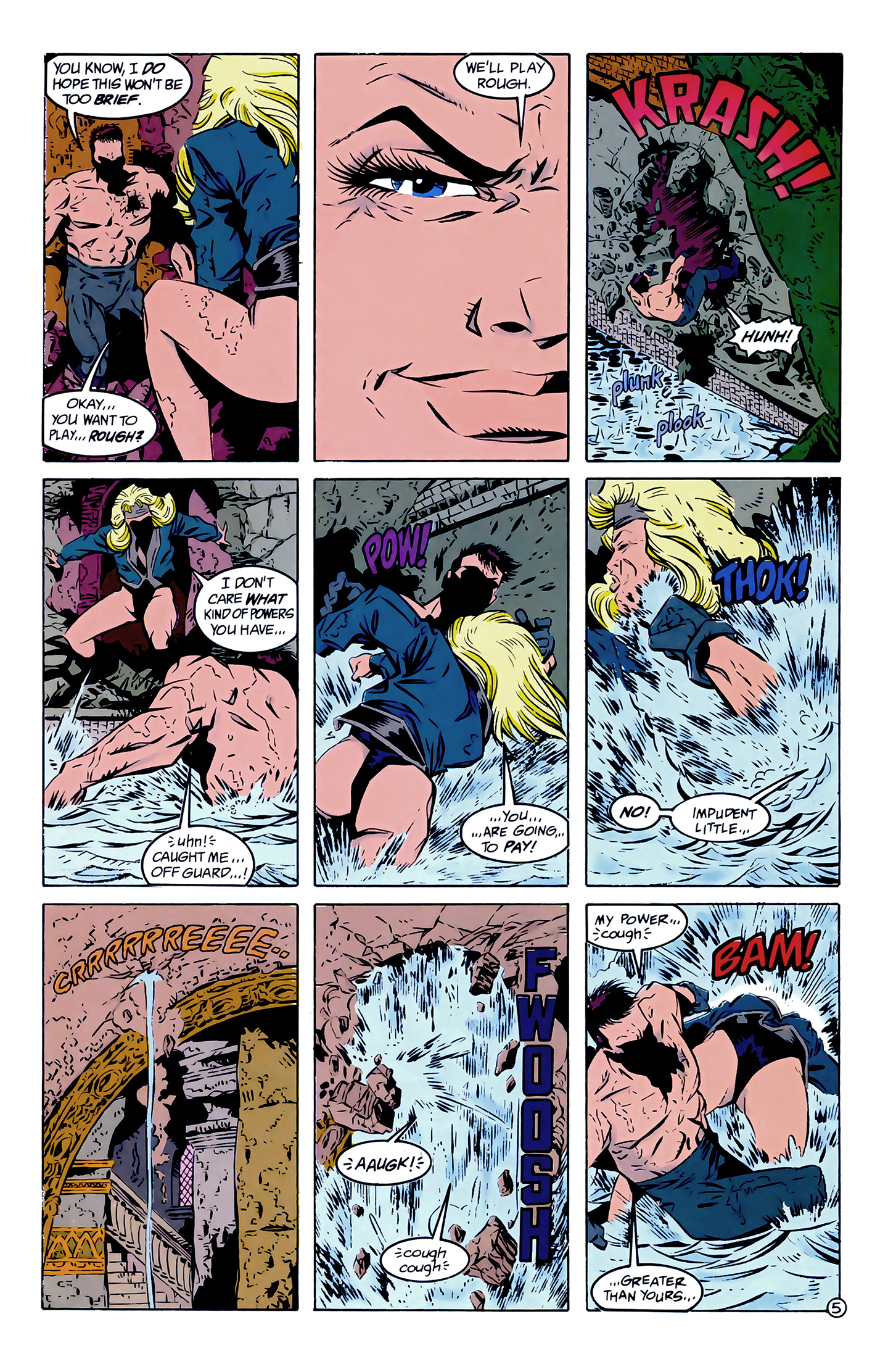Legion of Super-Heroes (1989) 7 Page 5
