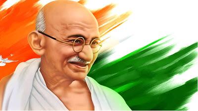 Mahatma Gandhi Widescreen HD Image