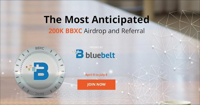 Informasi Airdrop Gratisan Terbaru 2019 dari Bluebelt