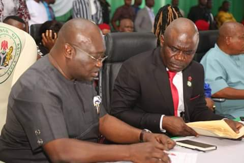 Innovate to solve problems, @GovernorIkpeazu charges new commissioners