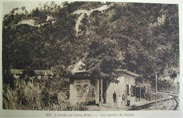 đường xe lửa ở cao nguyên Lâm Đồng
