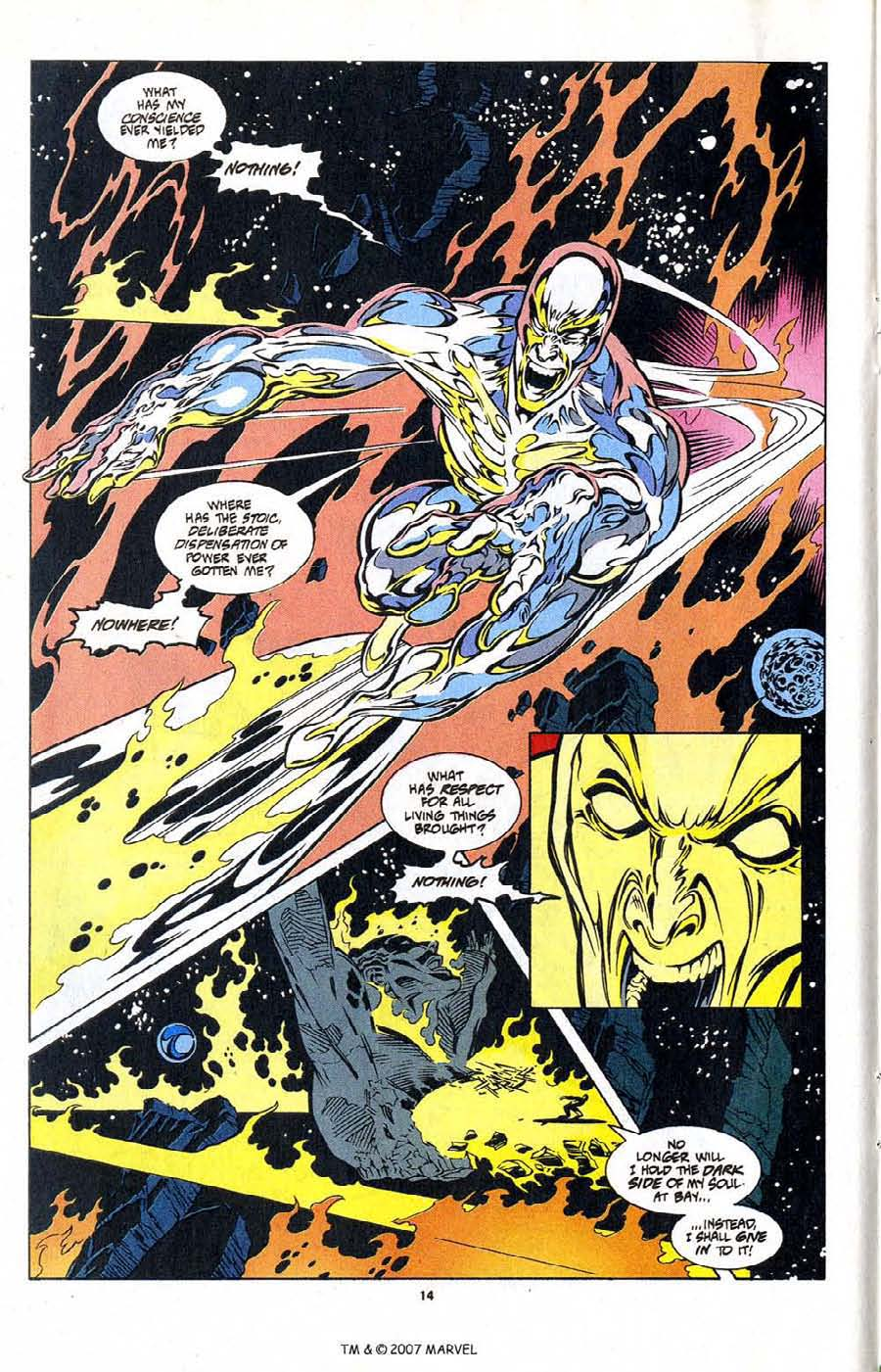 Silver Surfer (1987) Issue #104 #112 - English 16