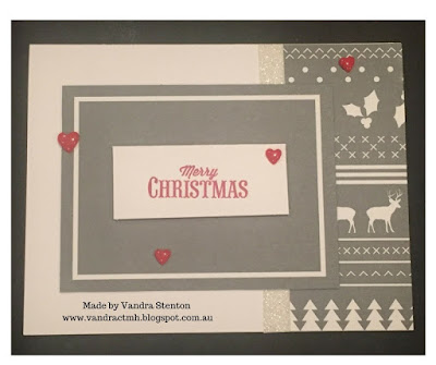 #ctmhSilverandGold, Christmas, Merry and Bright, reindeer, zip strip, complements, shimmer trim, star, Black & White, Black, grey, CTMH,