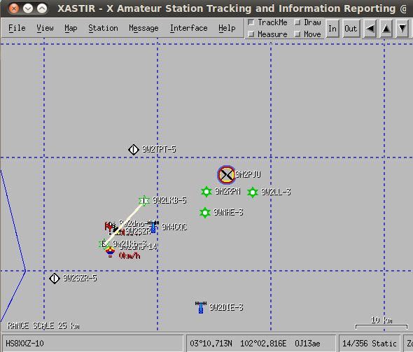 9M2PJU: XASTIR - An Opensource APRS application