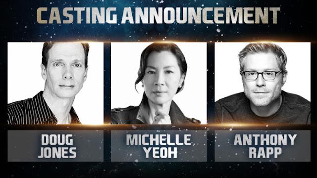 Doug Jones, Michelle Yeoh e Anthony Rapp reciteranno nella nuova serie Star Trek Discovery - TG TREK: Notizie, Novità, News da Star Trek