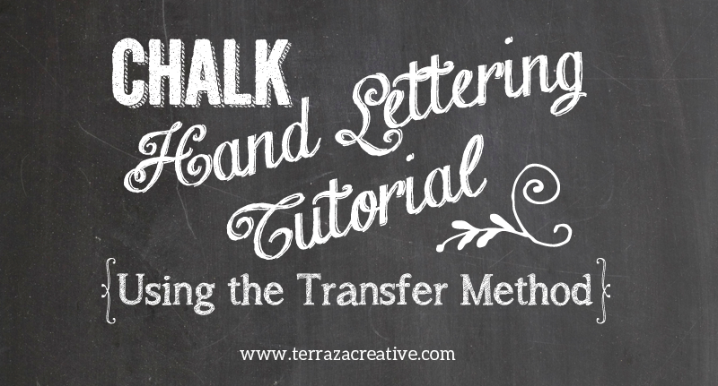 Diy Chalk Hand Lettering Tutorial Creative Ever After