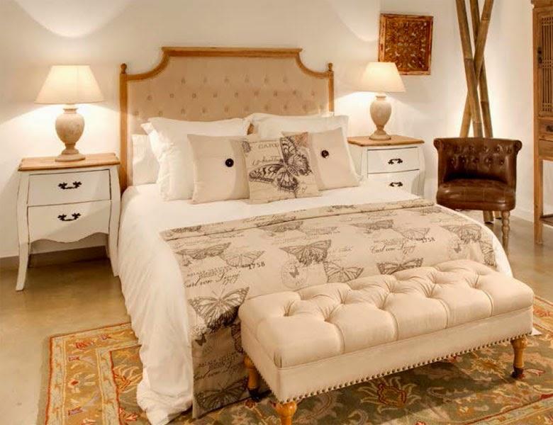 Dormitorio vitange blanco