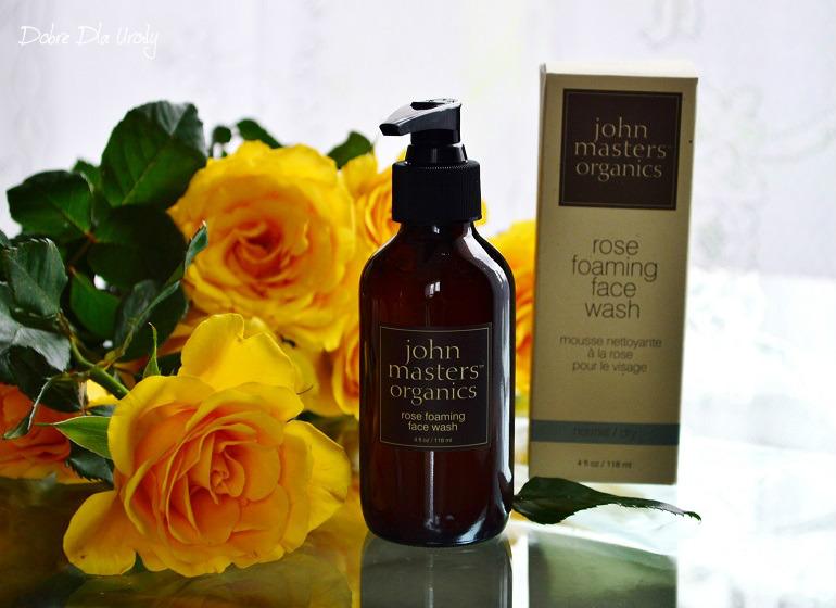 John Masters Organics Różany żel do mycia twarzy - oczyszczanie w harmonii z naturą