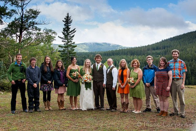 What To Wear To A Mountain Wedding