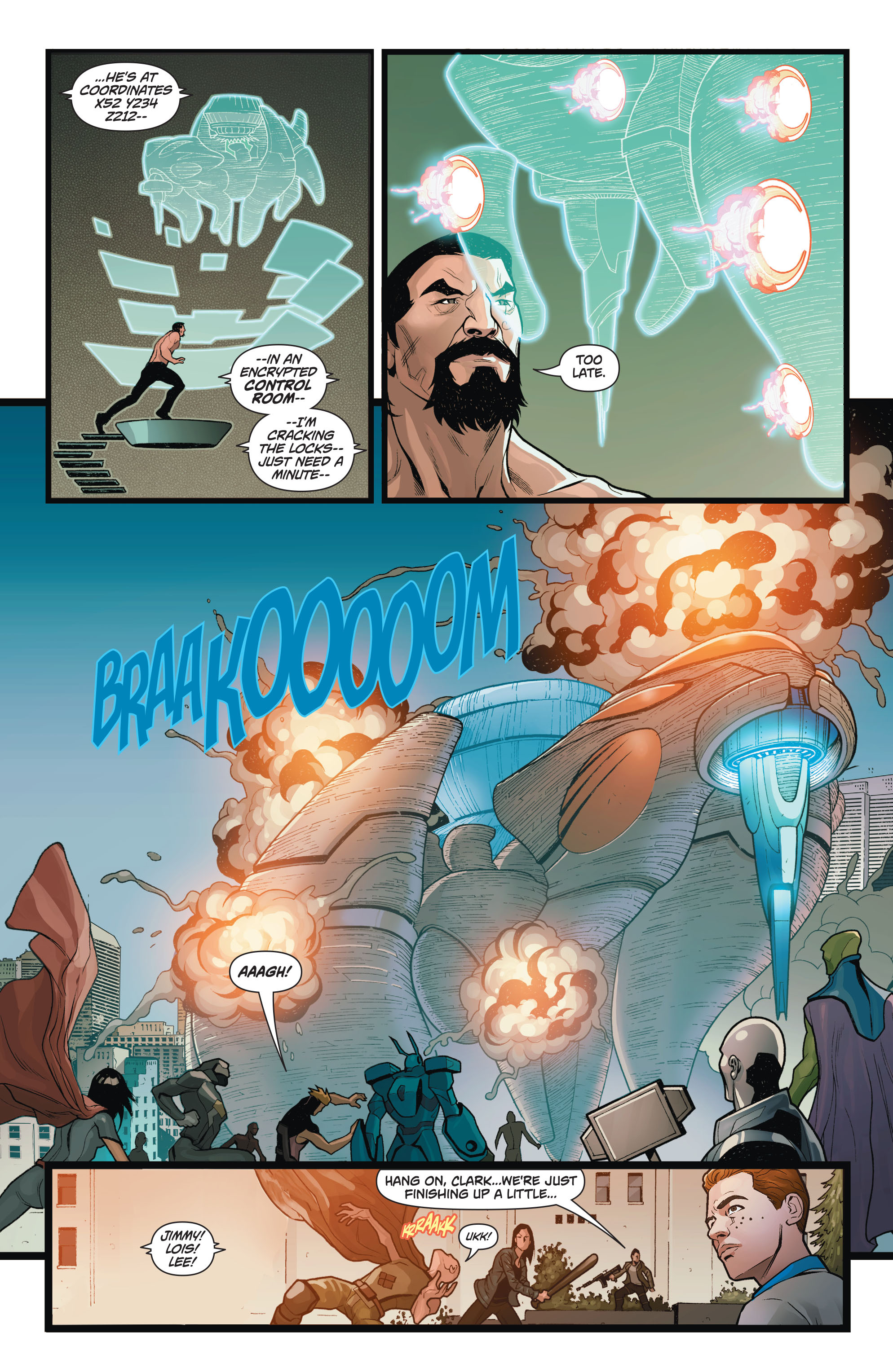 Read online Action Comics (2011) comic -  Issue #50 - 17