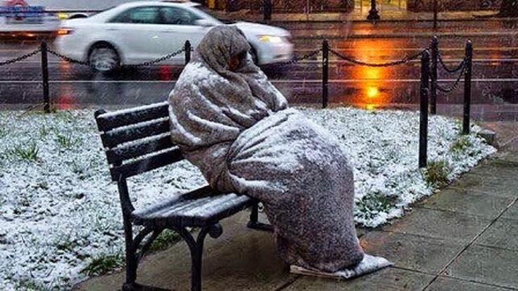Ο... ρομαντισμός για το χιόνι, και η δυστυχία όσων υποφέρουν