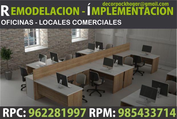 Dise os fabricacion de closet cocina y muebles de oficina rpc 962281997 mobiliario de oficina - Mobiliario de oficina barato ...